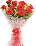Small red roses bouquet for delivery in Chennai